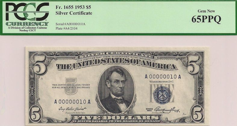 CoolSerialNumbers.com - Silver Certificates For Sale